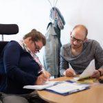 Arbeitssituation Teamarbeit Barrierefreiheit