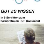 5 Schritte zum barrierefreien PDF